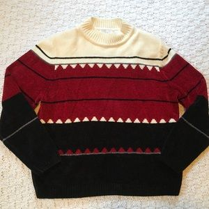 Alfred Dunner Men's Crew Neck Sweater